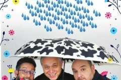 Piove sempre sul bagnato locandina - 2018